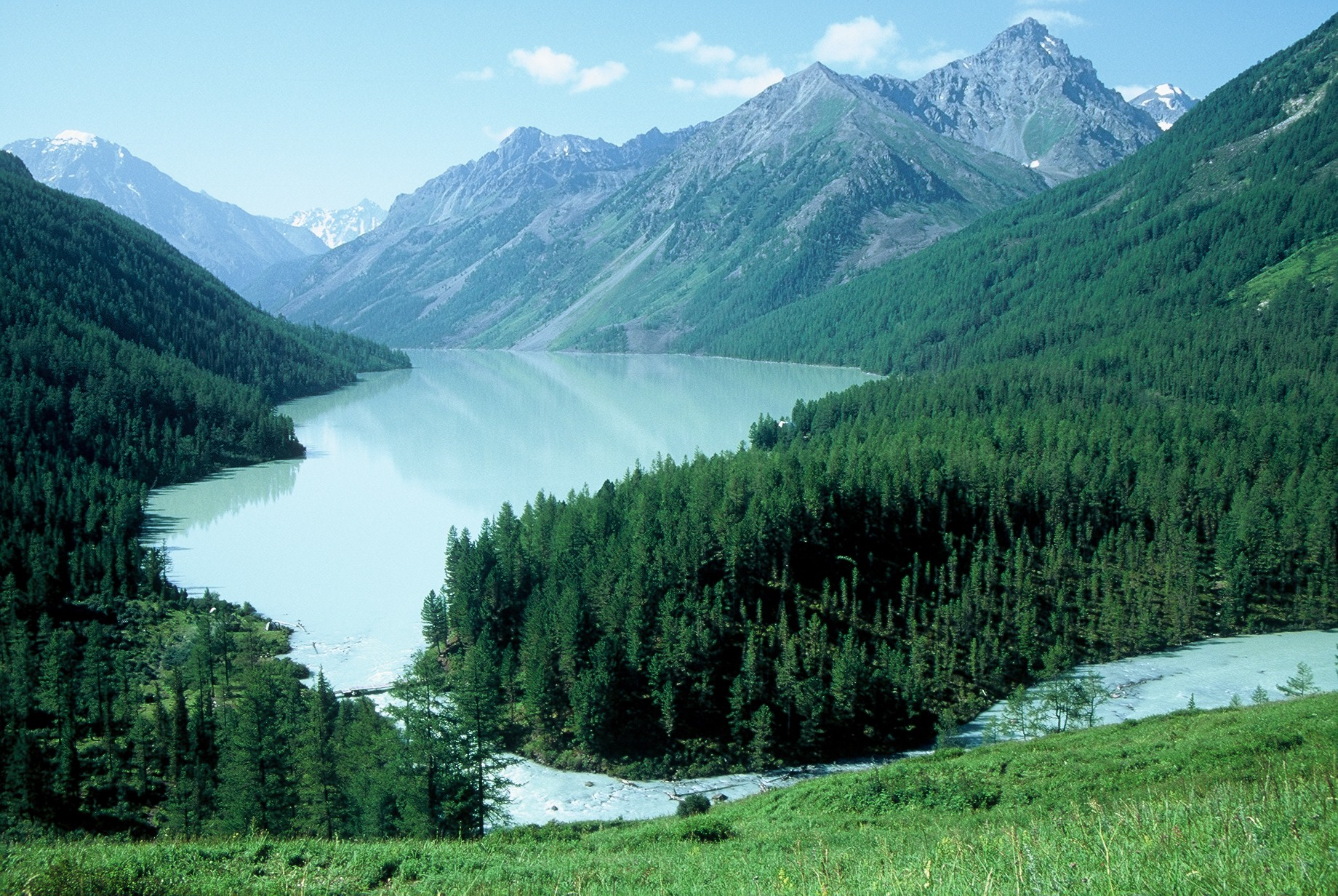 Altai mountains in Siberia